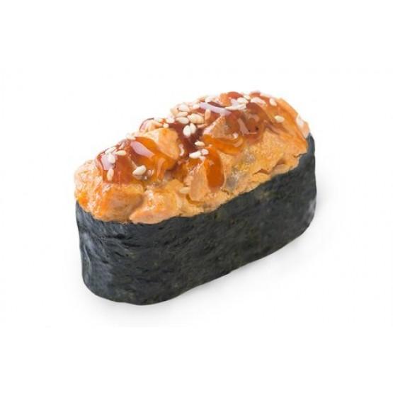 Гункан Запеченный лосось
